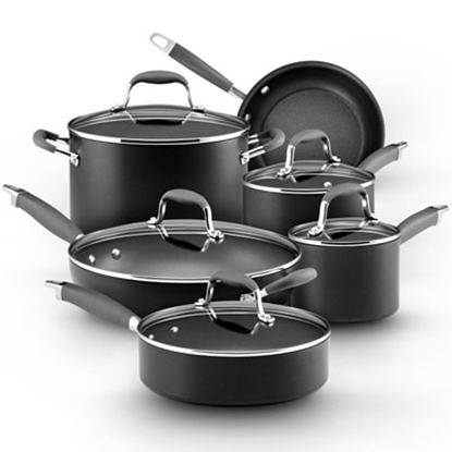 Picture of Anolon® Advanced 11-Piece Cookware Set - Gray