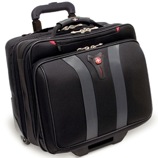 "Picture of Wenger® Granada 17"" Wheeled Computer Case - Black"
