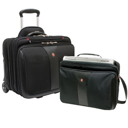 Picture of Wenger® Patriot 2-Piece Business Set - Black