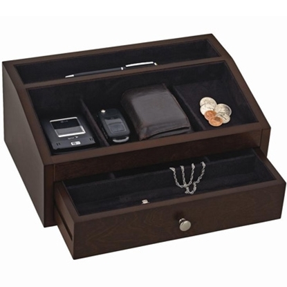 Picture of Reed & Barton Jackson Men's Valet/Jewelry Box