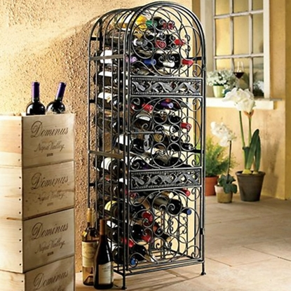 Picture of Wine Enthusiast Renaissance Wrought Iron Wine Jail