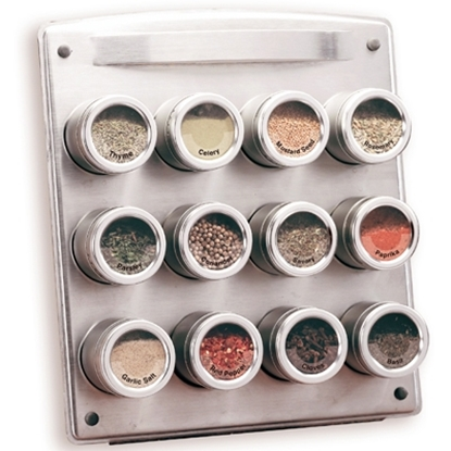 Picture of Kamenstein® 12-Canister Magnetic Spice Rack