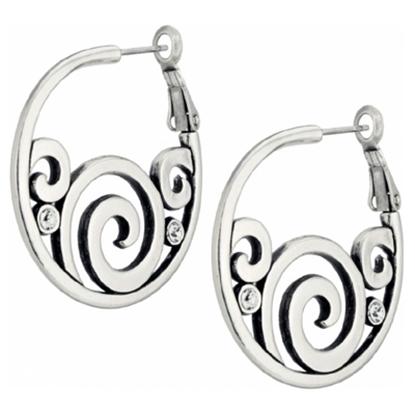 Picture of Brighton® London Groove Hoop Earrings