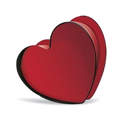 Picture of Baccarat Zinzin Large Heart - Ruby