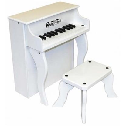 Picture of Schoenhut® Elite Spinet Piano - White