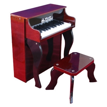 Picture of Schoenhut® Elite Spinet Piano - Mahogany/Black
