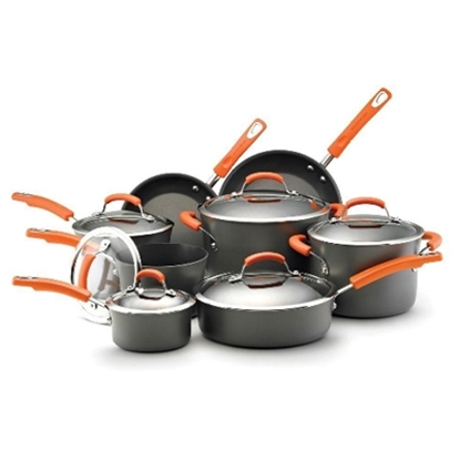 Picture of Rachael Ray 14-Piece Hard Anodized II Cookware Set