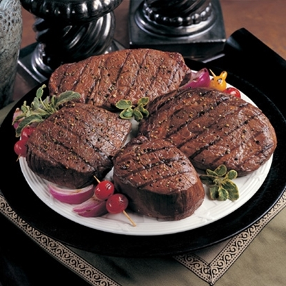Picture of Omaha Steaks® Filet Mignons, Strips & Ribeyes