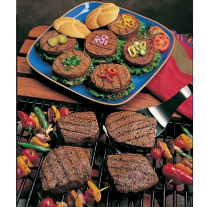 Picture of Omaha Steaks® Filets, Burgers and Seasoning