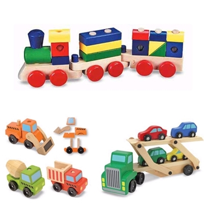 Picture of Melissa and Doug® Play Vehicle Set