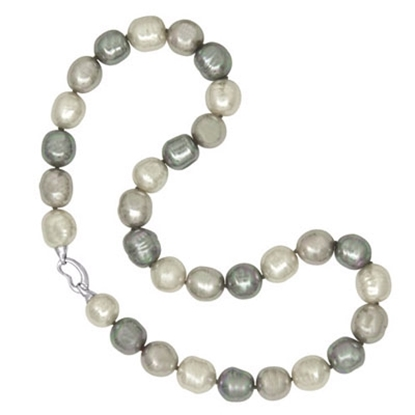 Picture of Majorica Baroque Pearl Strand Necklace