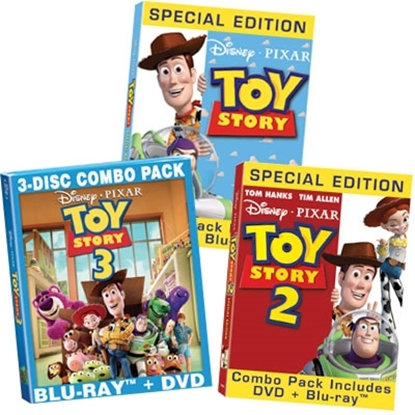 Picture of Disney Pixar Toy Story Movie Set for Blu-Ray™