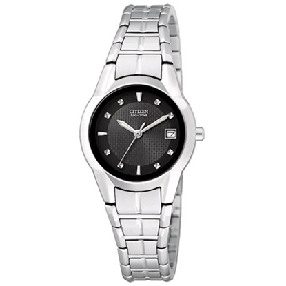Picture of Citizen Ladies' Eco-Drive Watch with Black Dial