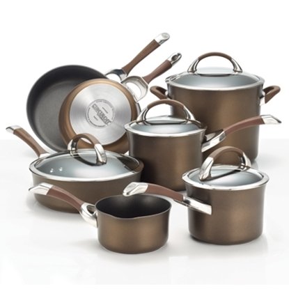 Picture of Circulon® Symmetry 11-Piece Cookware - Chocolate