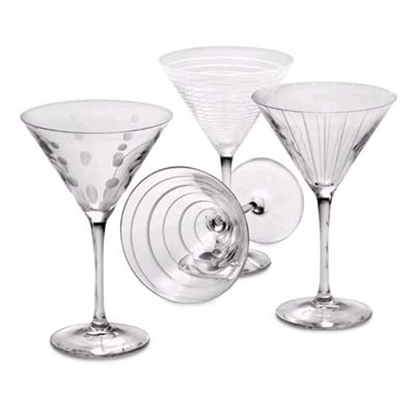 Picture of Mikasa Cheers Martini Glasses - Set of 4