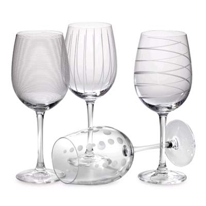 Picture of Mikasa Cheers White Wine Glasses - Set of 4