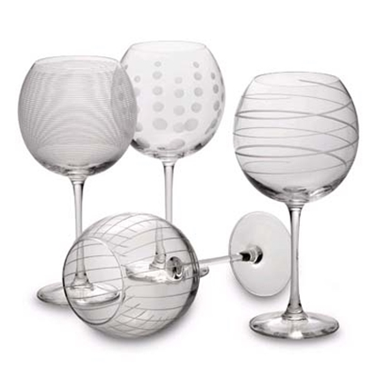 Picture of Mikasa Cheers Balloon Wine Goblets - Set of 4