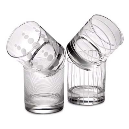 Picture of Mikasa Cheers Double Old Fashioned Glasses - 4