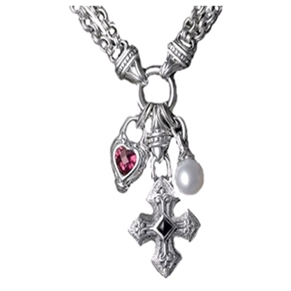 Picture of Scott Kay Charm Necklace