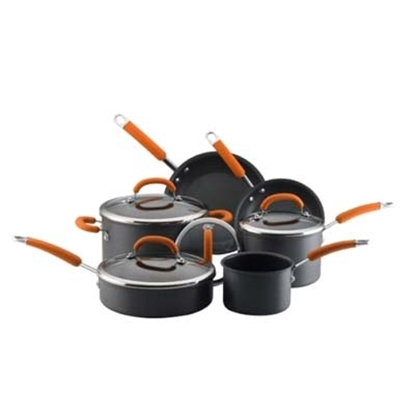 Picture of Rachael Ray 10-Piece Hard Anodized Cookware Set