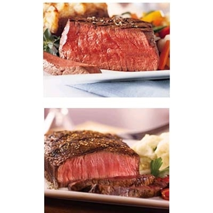 Picture of Omaha Steaks® Filet Mignon & Top Sirloin Combo