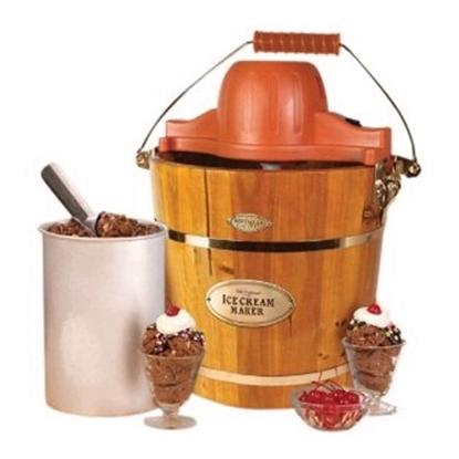 Picture of Nostalgia Electrics™ Ice Cream Maker -Wood