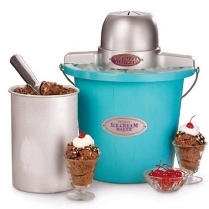 Picture of Nostalgia Electrics™ Ice Cream Maker -Blue