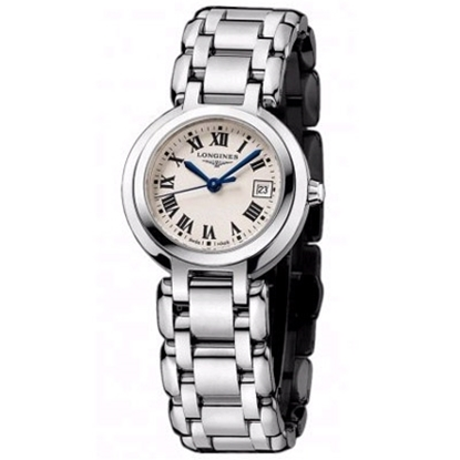 Picture of Longines® PrimaLuna Ladies' Watch -Silver Dial