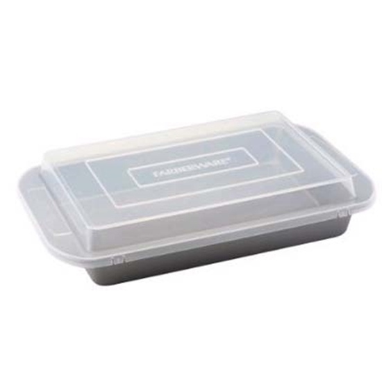 """Picture of Farberware® 9"""" x 13"""" Covered Cake Pan"""
