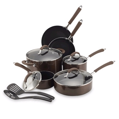 Picture of Farberware Millenium 12-Pc Cookware St-Bronze