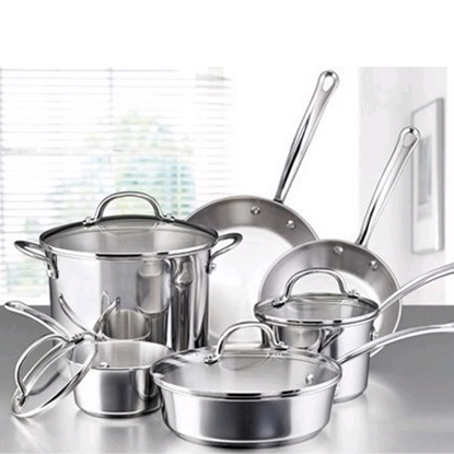 Picture of Farberware® Millenium 10-Piece Cookware Set -SS