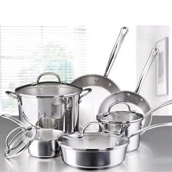 Picture of Farberware® Millenium 10-Piece Cookware Set -SS