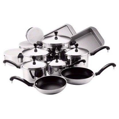 Picture of Farberware® Classic 17-Piece Cookware Set -SS