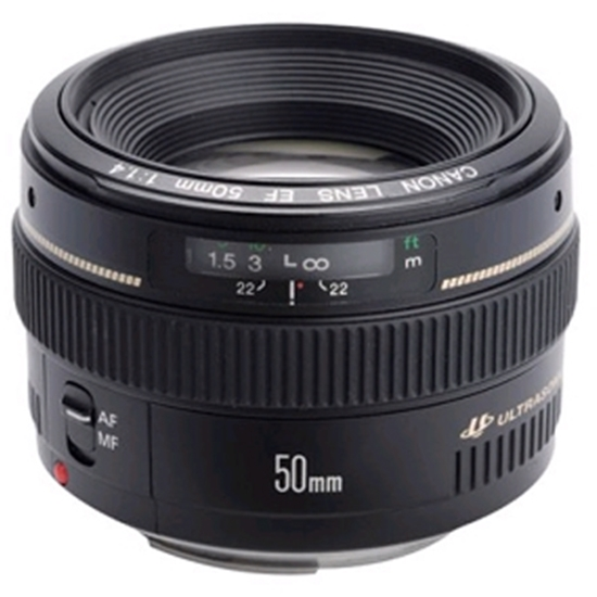 Picture of Canon EF 50mm f/1.4 USM Autofocus Lens