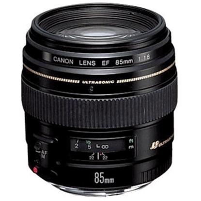 Picture of Canon EF 85mm f/1.8 USM Autofocus Lens