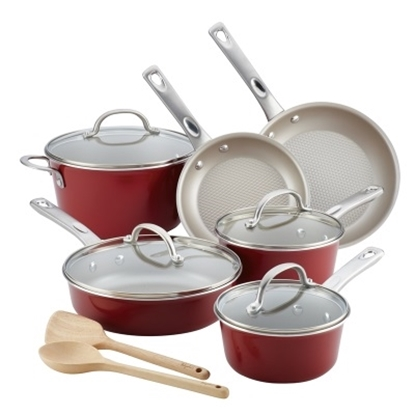 Picture of Ayesha Curry Aluminum 12-Piece Cookware Set