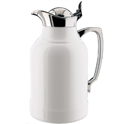 Picture of Thermos® Alfi Opal 1.0 Liter Carafe - Chrome Plated Brass