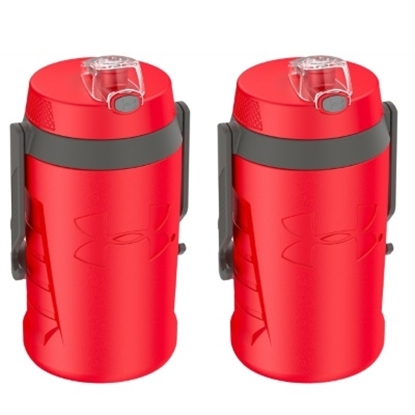Picture of Thermos® Under Armour 64oz Bottle - 2-Pack/Red