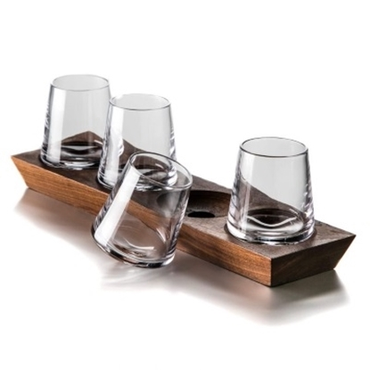 Picture of Simon Pearce Ludlow Whiskey Glass Set