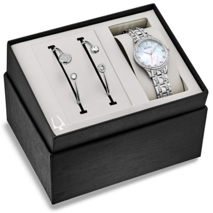 Picture of Bulova Ladies' Crystal Watch & Bracelet Set
