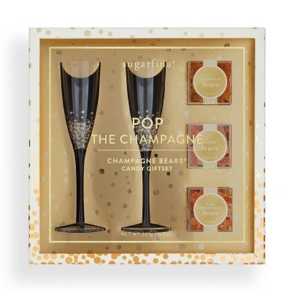 Picture of Sugarfina Pop the Champagne Candy Gift Set