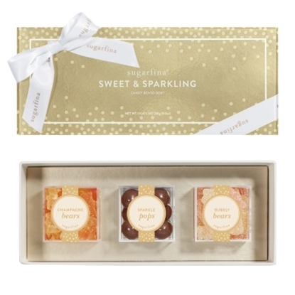 Picture of Sugarfina Sweet & Sparkling 3-Piece Candy Bento Box
