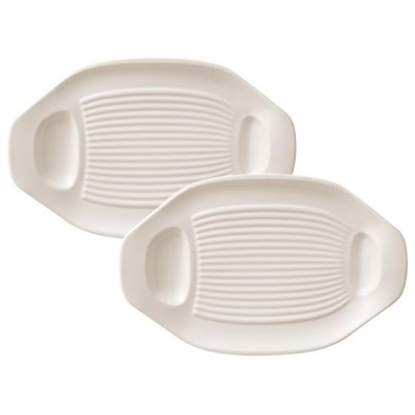 Picture of Villeroy & Boch BBQ Passion Grilled Vegetable Plates- Set of 2
