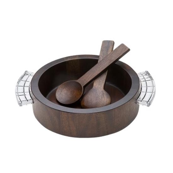 Picture of Orrefors Street Salad Bowl with Servers