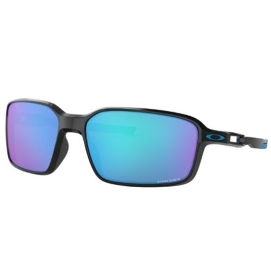Picture of Oakley Siphon Polarized - Black/PRIZM Sapphire