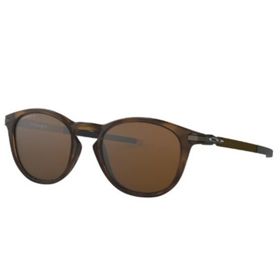 Picture of Oakley Pitchman R Polarized - Brown Tortoise/PRIZM Tungsten