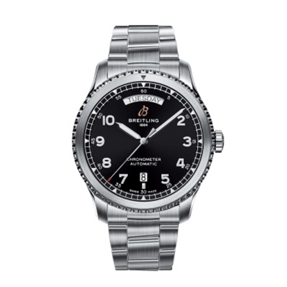 Picture of Breitling Navitimer 8 Auto Day & Date 41 - Steel/Black