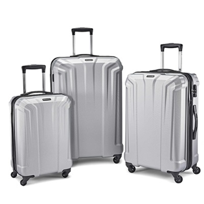 Picture of Samsonite Opto PC 3-Piece Luggage Set - Silver
