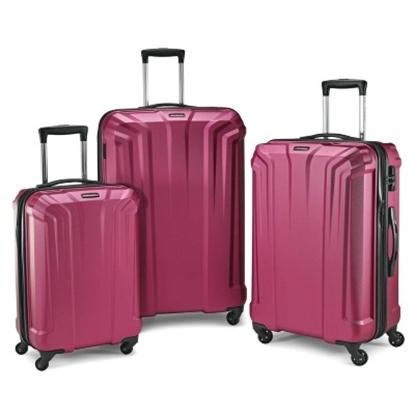 Picture of Samsonite Opto PC 3-Piece Luggage Set - Plum