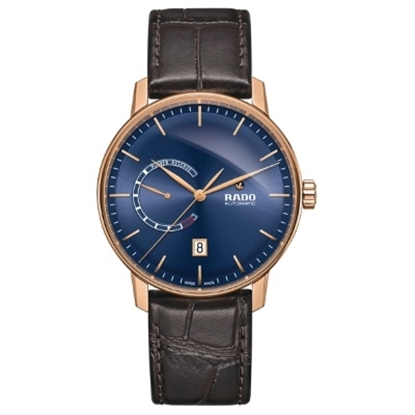 Picture of Rado Coupole Classic Automatic with Blue Dial and Leather Band